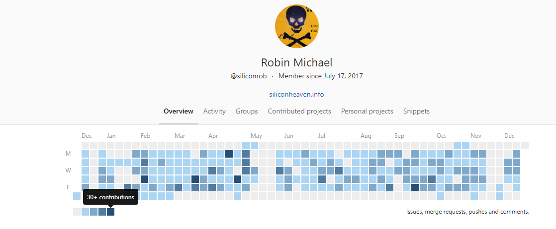 GitLab Activity Overview
